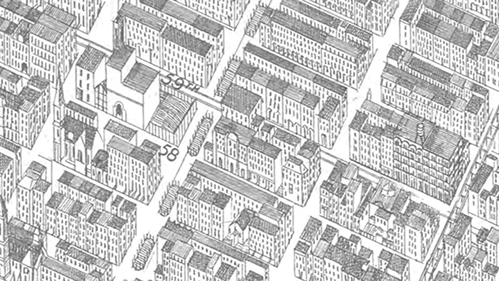 A Brief History Of Street Grids In America DOUGLAS C ALLEN - New york street map wallpaper